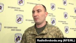 Віктор Шубец, офіцер прес-центру ООС