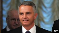 Президент и министр иностранных дел Швейцарии, действующий председатель ОБСЕ Дидье Буркхальтер (архив)
