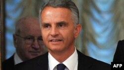 Vіністр закордонних справ Швейцарії Дідьє Буркгальтер