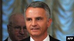 Миинстр иностранных дел Швейцарии Дидье Буркхальтер.