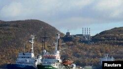 """Ледокол Greenpeace – """"Арктик санрайз"""", задержанный 19 сентября российскими пограничниками"""