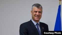 Премиерот на Косово Хашим Тачи
