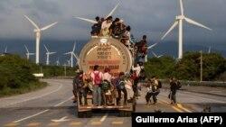 Imigranti iz Hondurasa