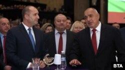 Президентът Румен Радев и министър-председателят Бойко Борисов отдавна не се срещат