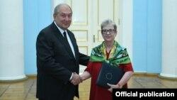 ԵՄ դեսպան Անդրեա Վիկտորինը իր հավատարմագրերն է հանձնում ՀՀ նախագահ Արմեն Սարգսյանին, Երևան, 17-ը սեպտեմբերի, 2019թ․
