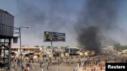 Нигериядағы терактілердің бірі болған аймақ. 1 ақпан 2015 жыл