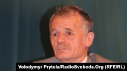Қырым татарлары меджилисінің бұрынғы төрағасы Мустафа Джемилев.