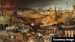 Петер Брейгель Старший. Триумф смерти. 1562 год