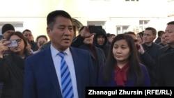 Генеральный директор «Восток нефть и сервисное обслуживание» Чжан Баоцзюнь.