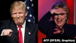 Donald Trump və Hillary Clinton