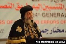 تواضروس دوم» رهبر مسیحیان ارتدوکس مصر