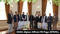 گروه تماس ابتدایی صلح حکومت افغانستان