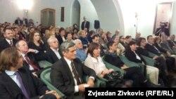 Sa promocije u Sarajevu, 22. april.