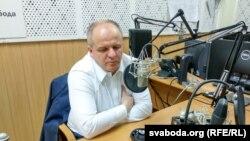 Павэл Коваль у студыі Радыё Свабода