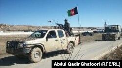 Ауғанстан қауіпсіздік күштерінің қызметкерлері. (Көрнекі сурет)