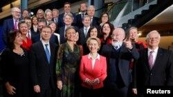 Янги таркибдаги Еврокомиссия.