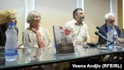 "Sa promocije knjige ""Moj dobri otac"" Beate Niman, Beograd, 22. maj 2012."