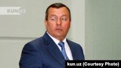 Бывший хоким Самаркандской области Туроб Джураев.