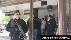 Një nga aksionet e policisë në Prishtinë, 6 maj 2016