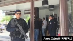 Pjesëtarë të policisë së Kosovës