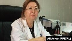 Заместитель главного врача станции скорой помощи Дастан Ниеталиева.