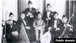 قارئ المقام محمد القبانجي وفرقة الجالعي البغدادي