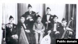 فرقة الجالغي البغدادي المصاحب لقاري المقام الأول محمد القبانحي