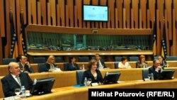 Sjednica zastupničkog doma Parlamentarne skupštine BiH, juni 2011.