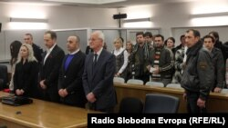 Архивска фотографија - Љубе Бошкоски во судница, ноември 2011 година