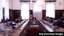 دیدار وزیر خارجه پاکستان با اشرف غنی رئیس جمهور افغانستان