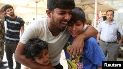 Sahrana nastradalih u napadu IDIL-a, Bagdad, 3. jul