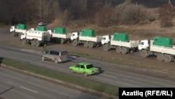 Кырымга Русиядән китерелгән зур электр генераторлары