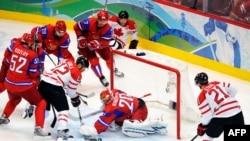 """Канада преподнесла России """"хоккейный урок"""""""