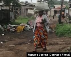 Раён у Танзаніі, дзе працавала валянтэрка Ларыса Саенка.