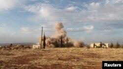 Сутички між опозицією і владними силами в сирійському Алеппо, 23 листопада 2013 року
