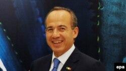 Presidenti i Meksikës, Felipe Calderon.