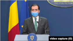 Prime Minister Ludovic Orban Victoria Palace video capture
