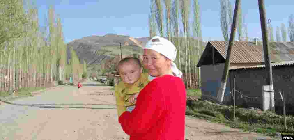 Кыргызстан. Ошская область. Село Папан. #10