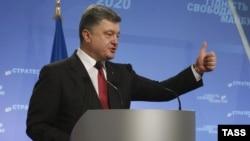 Украина президенті Петр Порошенко. Киев, 25 қыркүйек 2014 жыл