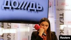"""Генеральный директор канала """"Дождь"""" Наталья Синдеева."""