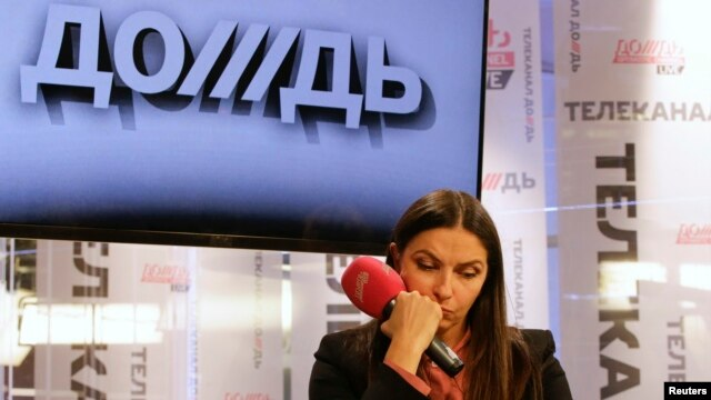 Natalya Sindeyeva, general director of Dozhd TV, is one of those warning that the ban will sound the death knell for more than half of Russia's cable and satellite channels.