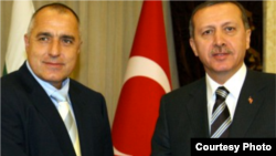 Boico Borisov și Recep Tayyp Erdogan la Ankara