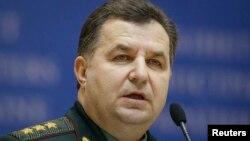 Міністр оборони Степан Полторак