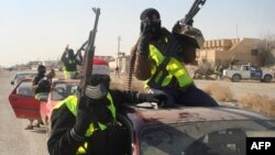 عناصر من قوات الصحوة في سامراء (من الارشيف)