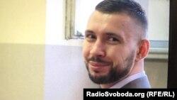 Віталій Марків на попередньому засіданні суду в Павії у липні