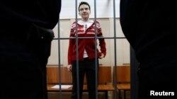 Надія Савченко в залі суду, 4 березня 2015 року