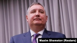Deputy Prime Minister Dmitry Rogozin is one of the Russian officials who will remain under EU sanctions. (file photo)