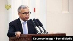 د فوائد عامې پخوانی وزیر، محمود بلیغ