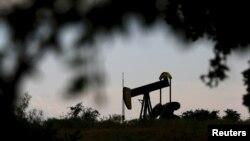Добыча нефти в американском штате Техас.