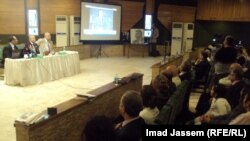 جانب من حفل إستذكار المنولوجست عزيز علي في بغداد